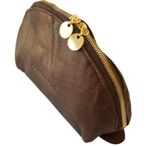 Brown Leather Half Moon