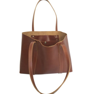 The perfect Leather tote, made in south africa