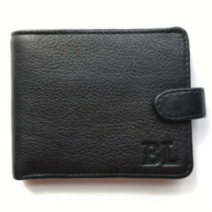 Genuine leather Bi-fold wallet made in SA