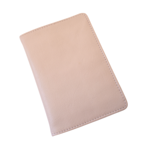 Genuine leather Ballet Pink Passport Cover- Made in South Africa Gifting