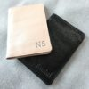 Genuine leather Personalised travel gift set- Passport cover and luggage tags Handcrafted in South Africa
