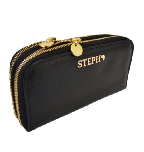 Double Zip Ladies Purse/Wallet Made in South Africa Genuine Leather