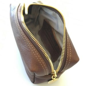 brown small loaf make up bag 1