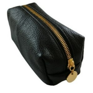 black small loaf make up bag 1