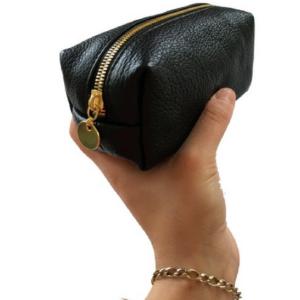 black small loaf make up bag 1