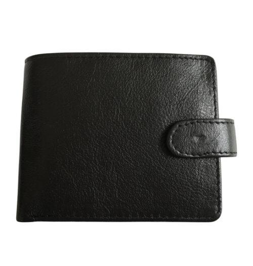 Genuine leather Bi-Fold Wallet with Tab