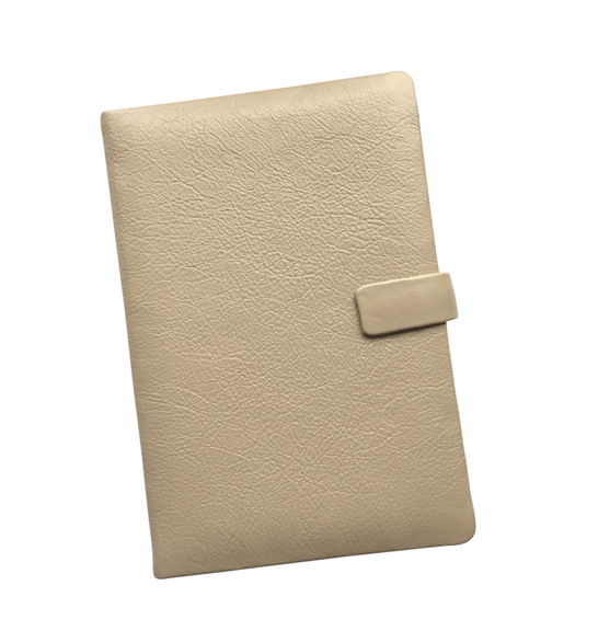 Genuine leather notebook journal personalised, made in South Africa