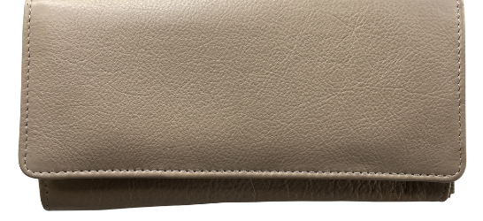 Genuine Leather Classic Ladies Purse, Proudly hand-crafted/Made in South Africa