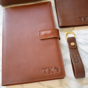 Genuine Leather Notebook Cover- Made in South Africa