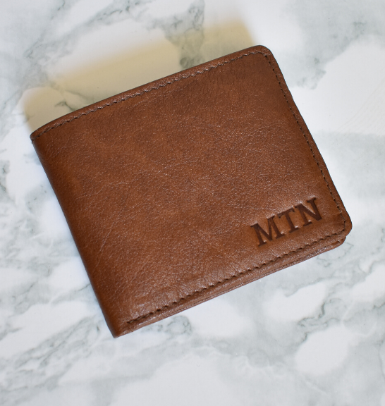 Genuine Leather Classic Bi-fold Wallet, Proudly hand-crafted/Made in South Africa