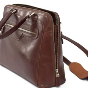 Genuine Leather Brown Luxurious Laptop Business Bag- Handcrafted/handmade in South Africa