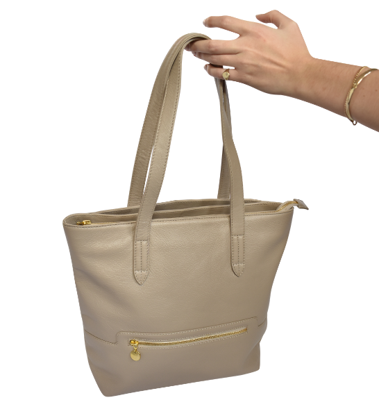 Grand Genuine Leather Tote Personalised-Handbag- Made in South Africa with custom personalisation