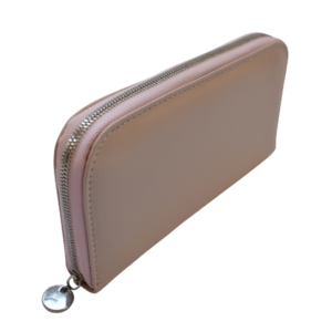 Genuine Leather Ladies Single Zip Purse- with custom personalisation Made in South Africa