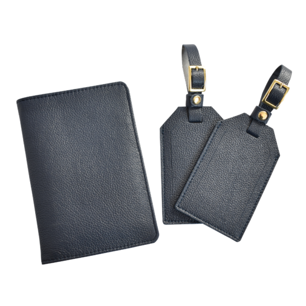 a6ba6a7cca55 Travel Duo Passport Cover & Luggage Tag Set