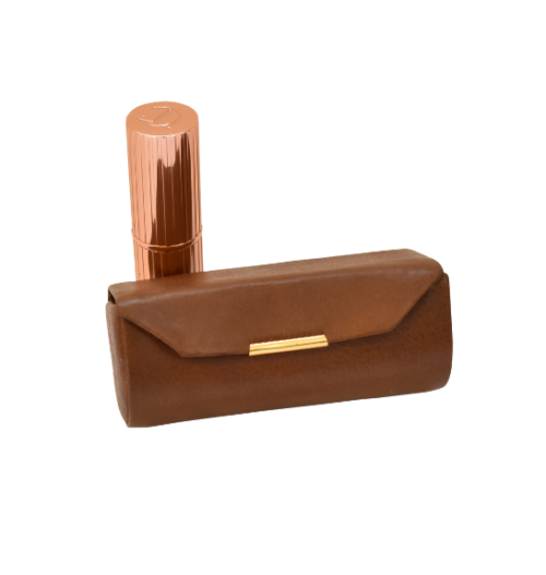 Genuine Leather Classic Ladies Lipstick Holder, Proudly hand-crafted/Made in South Africa