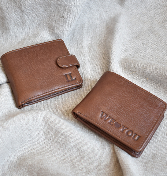 Genuine Leather Mens Bifold wallet- Made in South Africa