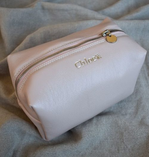 Genuine Leather Toiletry:Cosmetic Bag Made in South Africa7