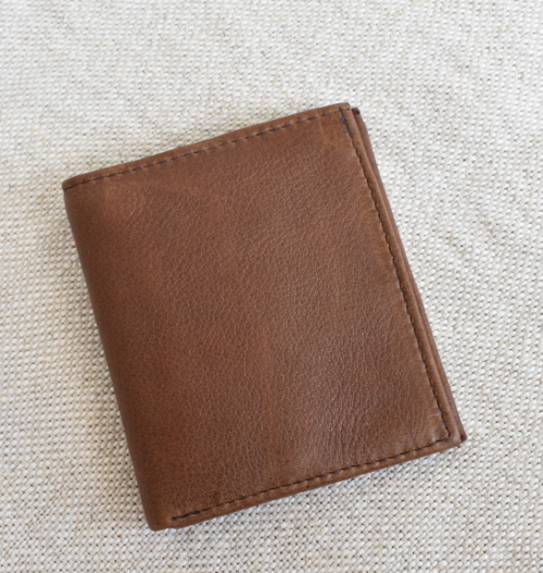 Slim genuine leather Cardholder made in South Africa with custom personalistion