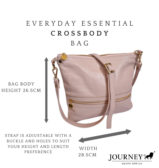 Genuine Leather Crossbody Bag Proudly handcrafted in South Africa