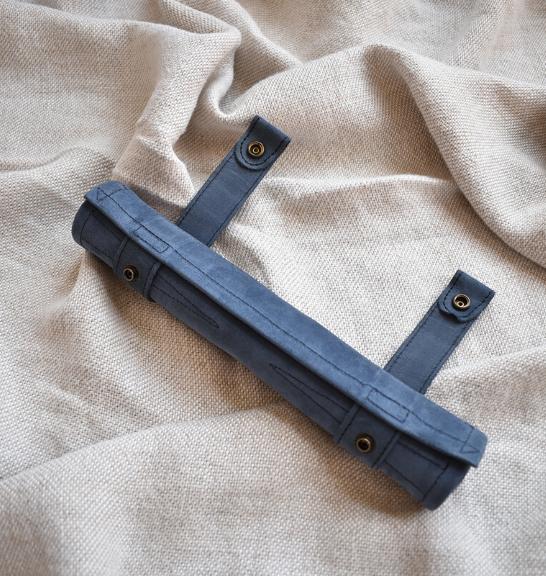 Genuine Leather Backgammon Roll up Set