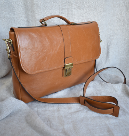 Genuine Leather Laptop Bag Made in South Africa with personalisation22