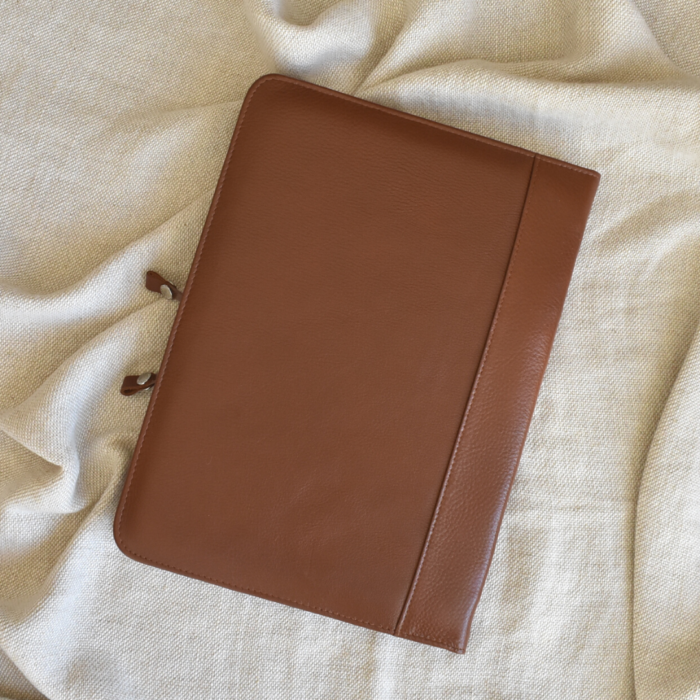 Genuine Leather A4 folder Folio Made in South Africa Handcrafted