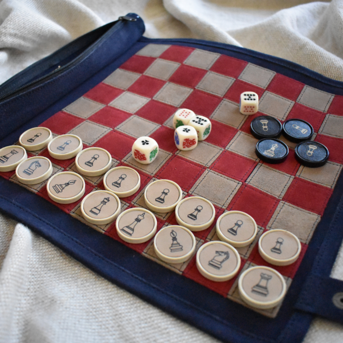 Personalised Chess Checkers Games- proudly Made In South Africa