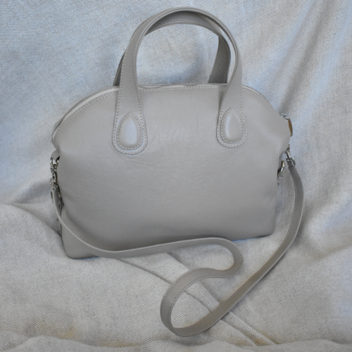 The Plush Dome Bag Genuine leather- Made in South Africa with personalisation