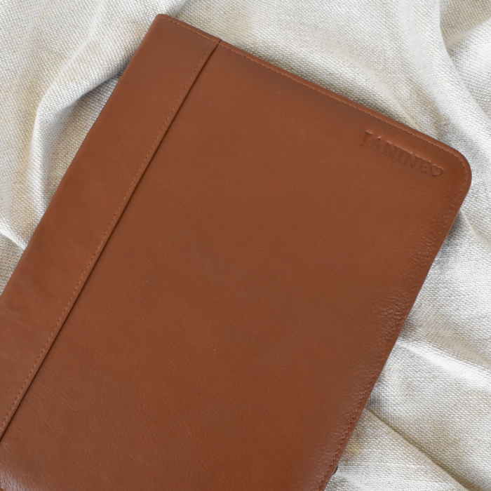 Genuine Leather A4 Folder with custom Personalisation Made in South Africa