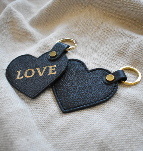 Genuine Leather Keyrings - Proudly made in South Africa Journey Leather with Custom Personalisation