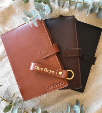 Sleek Slip-On Notebook Cover