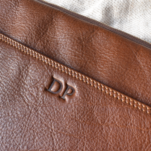 Genuine leather Laptop sleeves Made in South Africa WITH PERSONALISATION