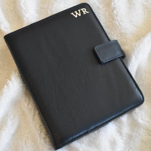 Genuine Leather Organiser with custom personalisation