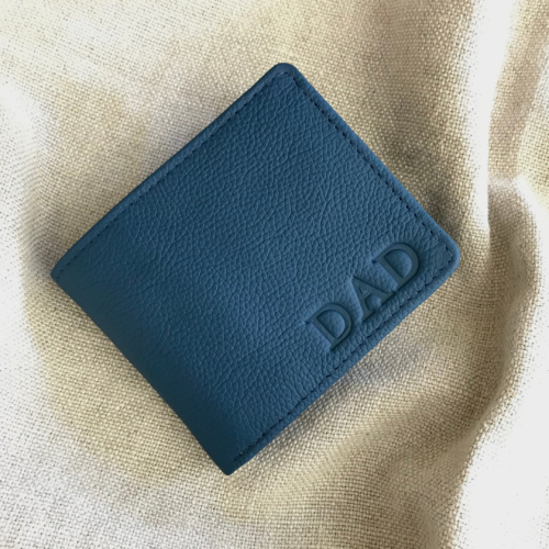 Genuine Leather wallet with custom personalisation