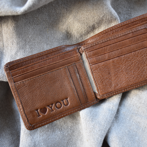 Additional Genuine Leather Personalisation -Journey Leather